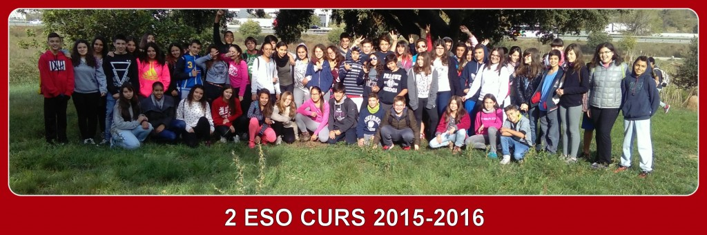 2n ESO CURS 2015-16 ROBOTSENY I MÉS