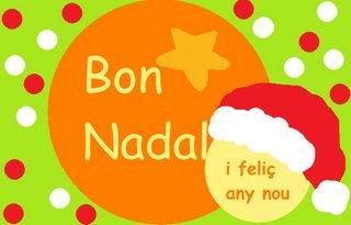 Us desitjo unes molt bones festes a tothom!!  Ens veiem al gener...