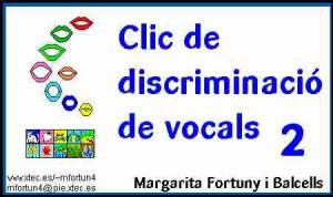 Clic de discriminacio de vocals 2 (M. Fortuny)
