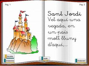 El llibre multimèdia de Sant Jordi (A. García) Genmagic