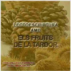 Lectoescriptura amb els fruits de la tardor (J.L. Lázaro)
