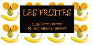 Les fruites (M. Albarrán)
