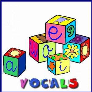 Les vocals (F. Salcedo)