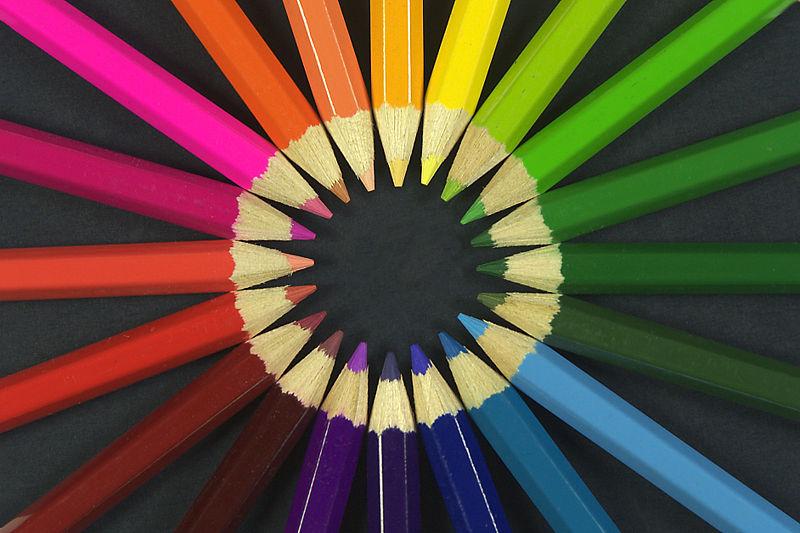 roda llapis de colors
