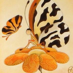 Una papallona?