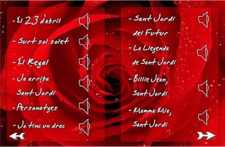 Cançons de Sant Jordi
