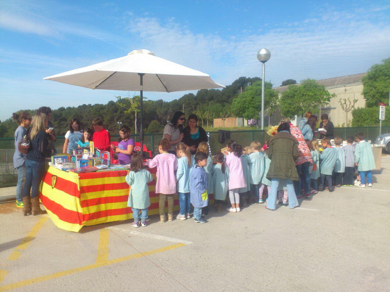 Cicle Infantil visita la parada de l'AMPA