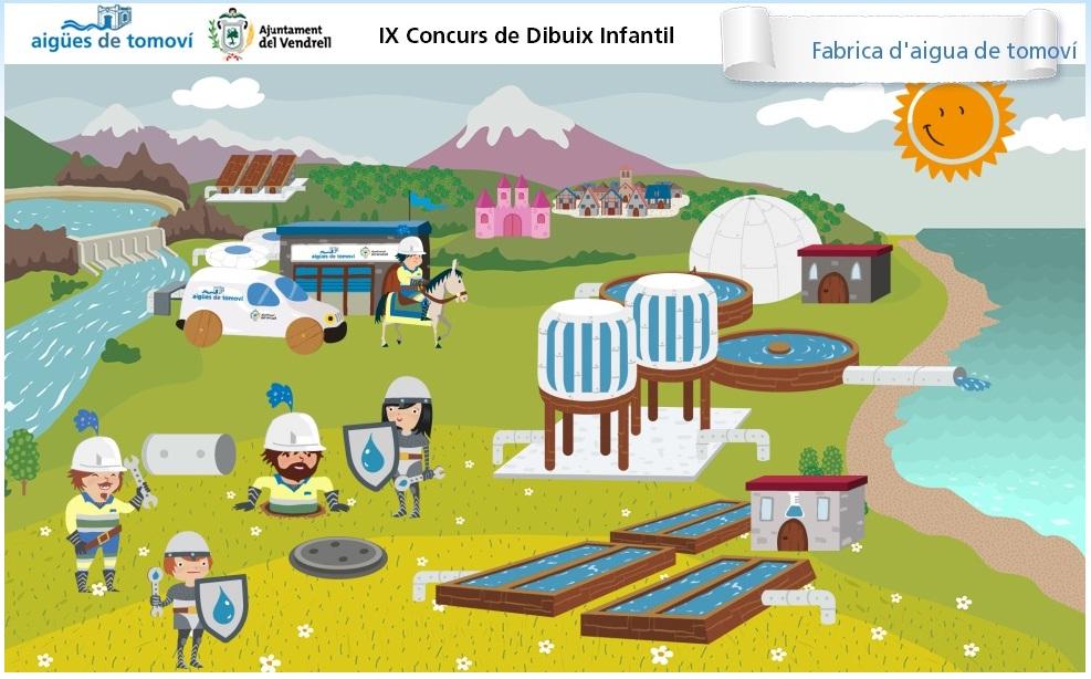 FINALISTA  IX CONCURS DE DIBUIX INFANTIL