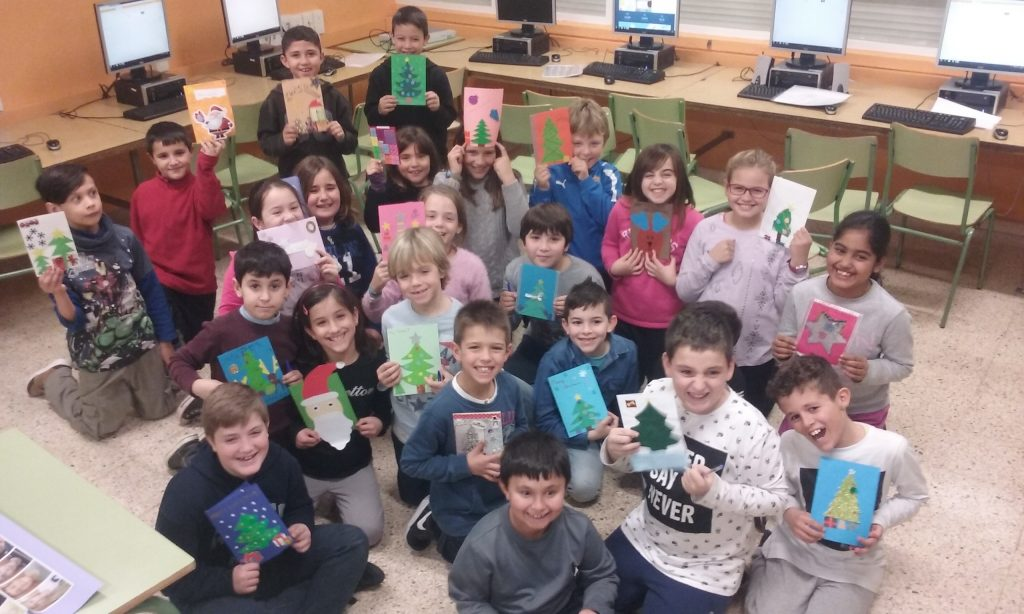 We have received Polish Christmas Cards!! | Our English Corner