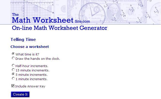 worksheet-generator