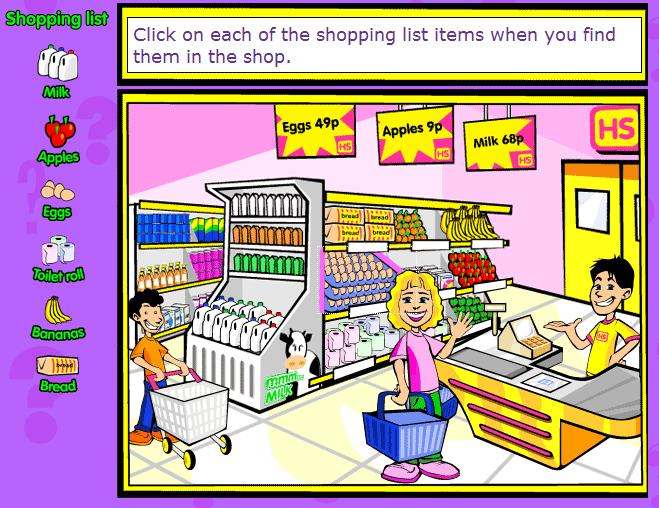 Clothes shopping english lesson