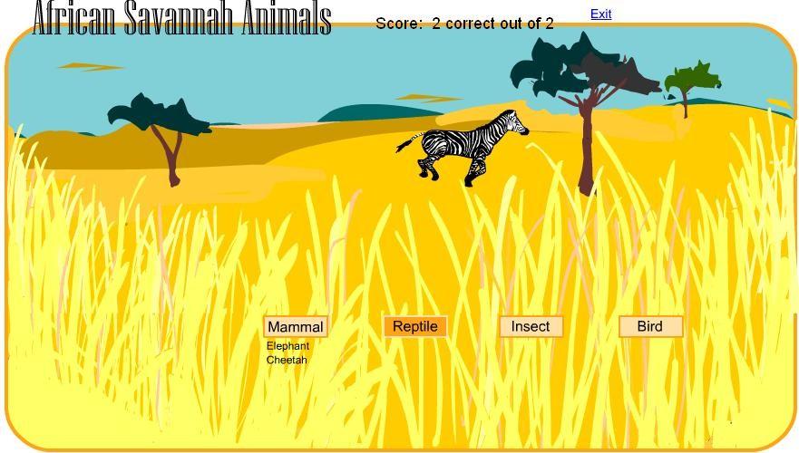 savannah-animals