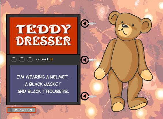 teddy-dresser