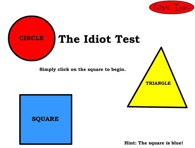 idiot-test