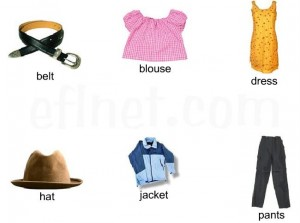 clothes-dictionary