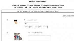 present-continuous