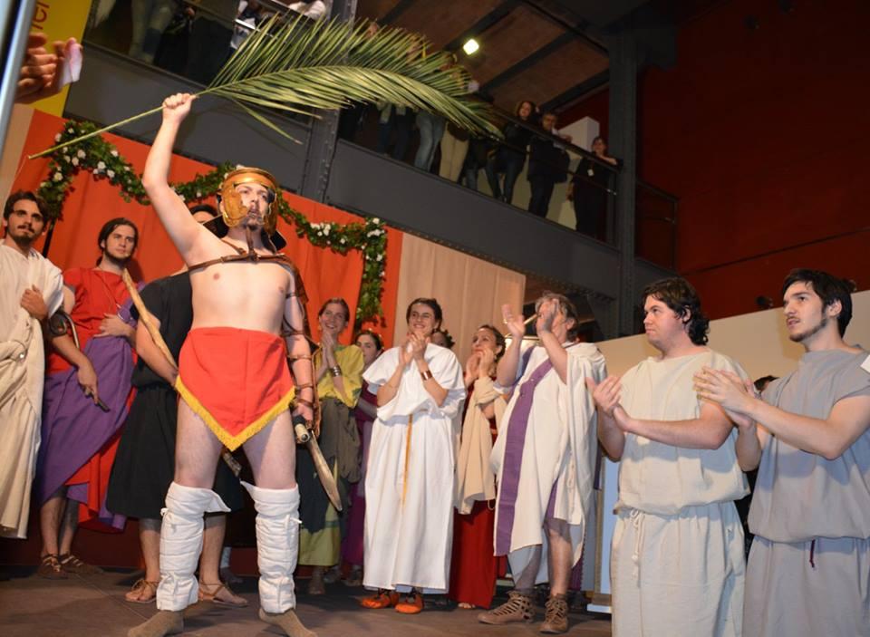El Guillem de 2n de Batxillerat i el gladiador triomfant