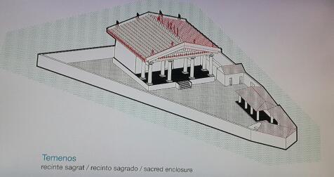 Temple etrusc dedicat a la deessa Minerva