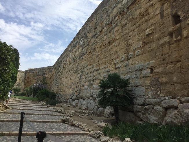 Part de la muralla romana.