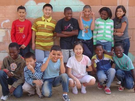 Grup de l'aula d'acollida 2009-10