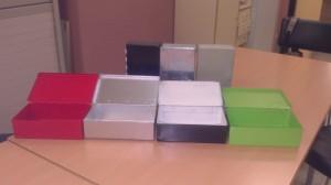 Les nostres caixes