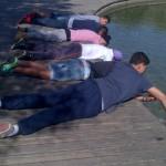 Descansant amb l'aigua