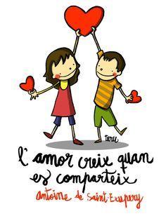 l'amor creix quan es comparteix