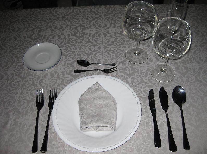 Poner la mesa de fiesta