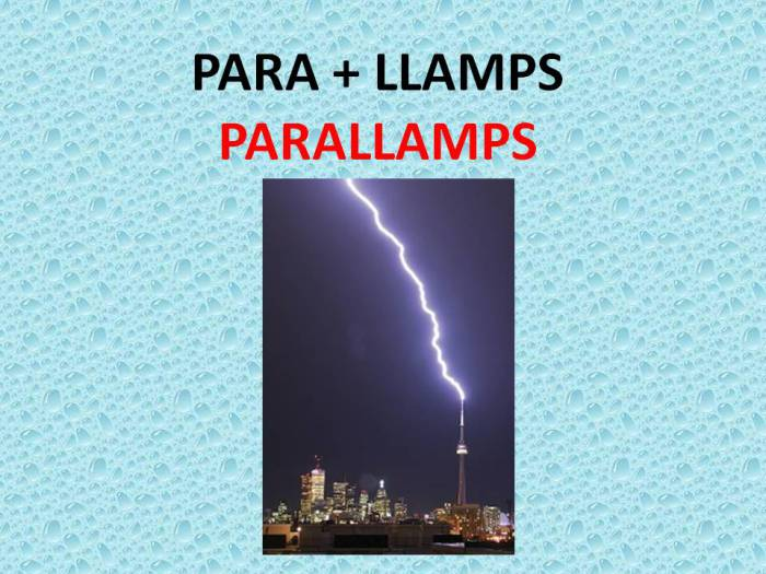 parallamps