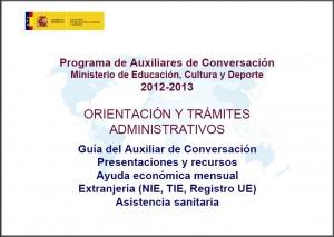 Material de referencia del Ministerio de Educación, Cultura y Deporte