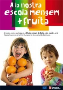 Pla de consum de fruita a les escoles