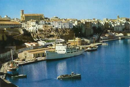 Port de Maó. Menorca