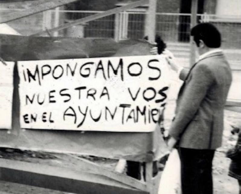 protesta cartel