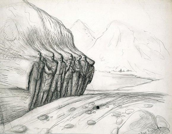 edgar-ende-al-salir-de-las-rocas-1946