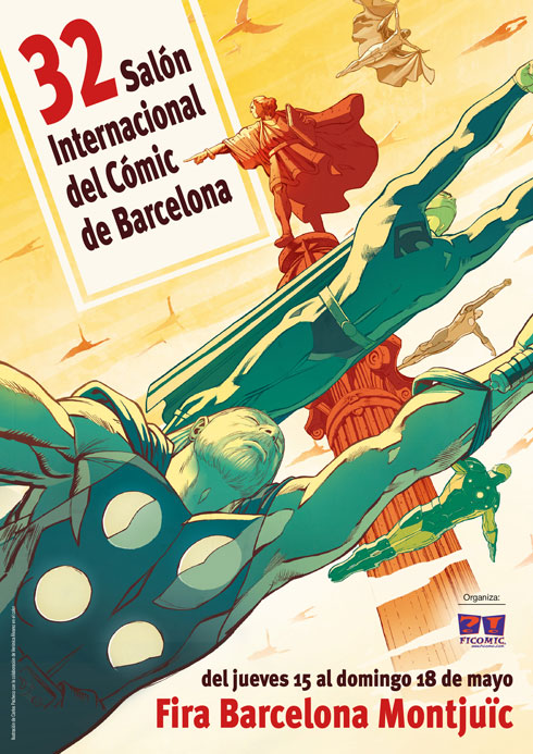 Cartel-Salon-Comic-Barcelona-Carlos-Pacheco-32