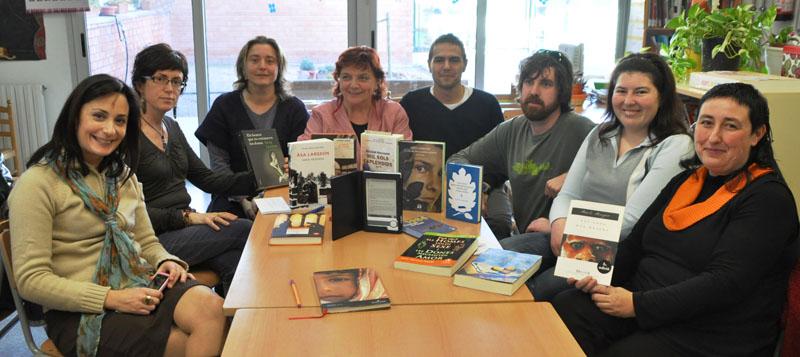 Integrants del 1er taller de lectures compartides