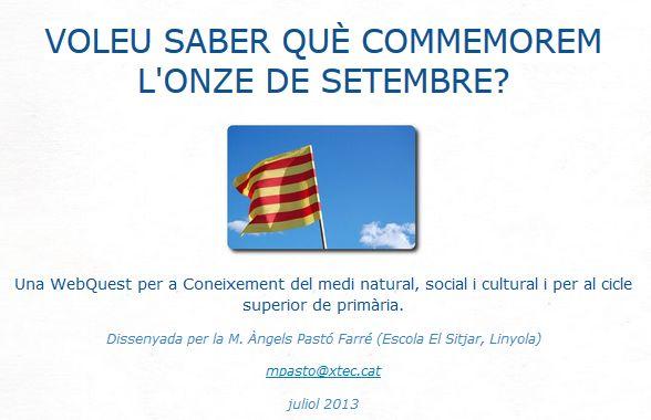 webquest 11 setembre