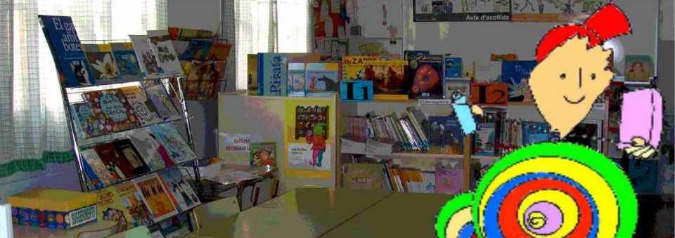 La biblioteca de l'Escola d'Almenar