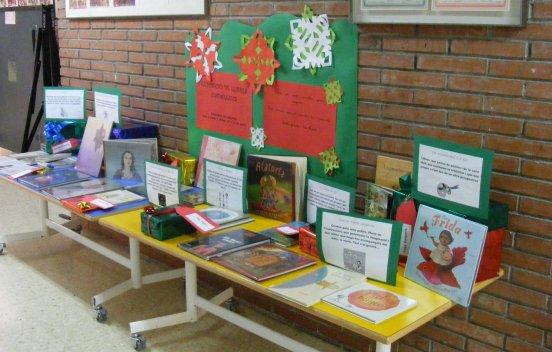 Expossició de llibres per Nadal