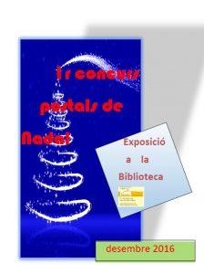 Cartell del concurs POSTALS DE NADAL