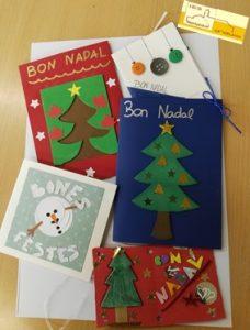 Postals de Nadal guanyadores