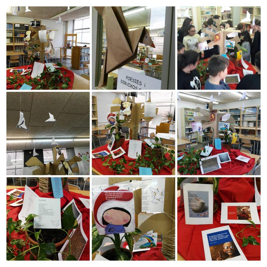 Collage de l'exposició