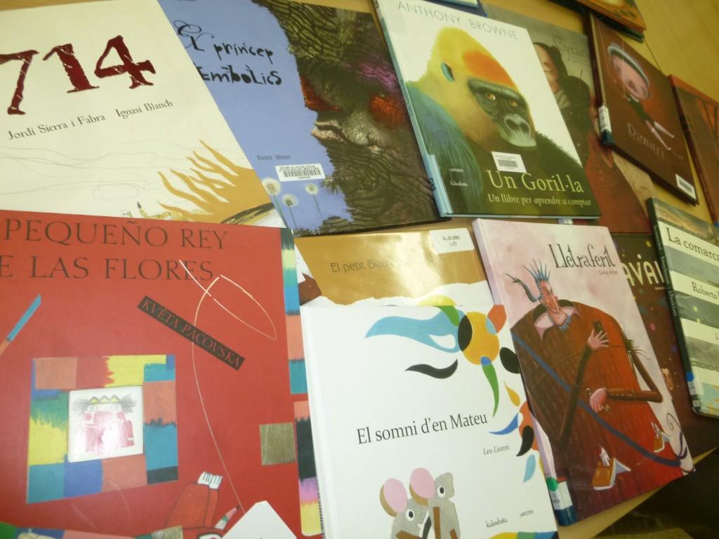 Àlbums il·lustrats Seminari biblioteques escolars Ribera d'Ebre