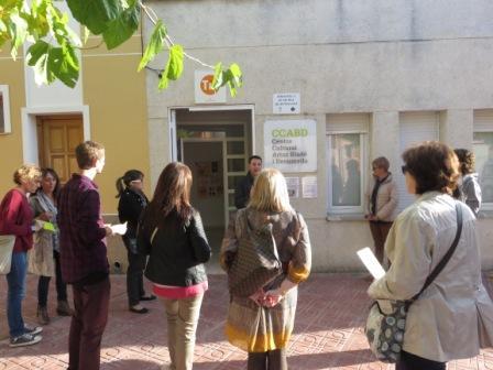 Centre C. Artur Blade a Benissanet Seminari Biblioteques Ribera Octubre2015