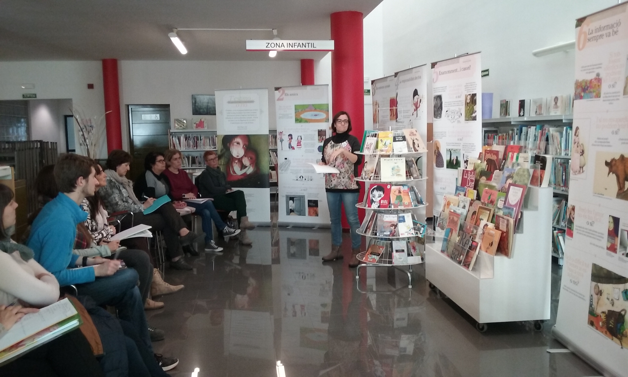 20151118 Biblioteca Comarcal de Móra d'Ebre