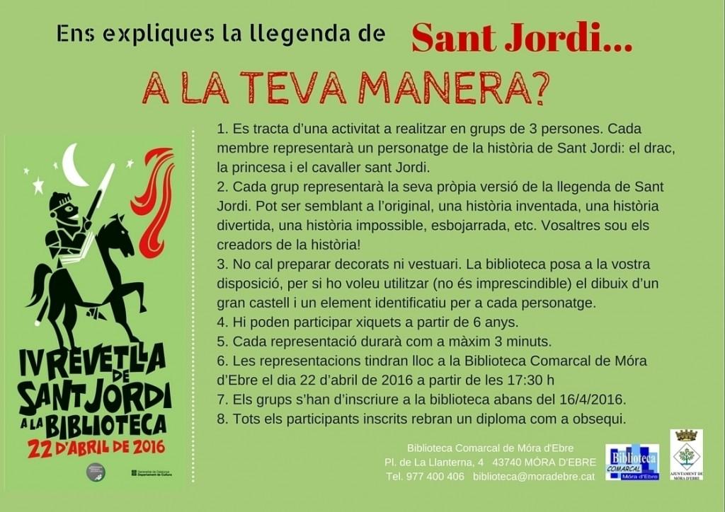 Revetlla St. Jordi 2016
