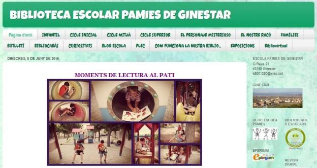 -Biblioteca Escola Pàmies de Ginestar