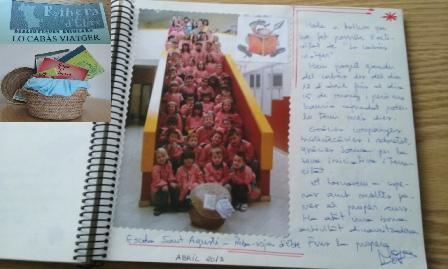 Diari ruta-bibliocabas-Ribera- Escola Riba-roja1
