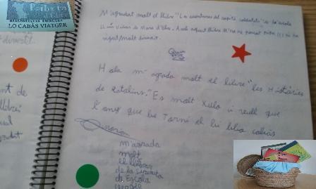 Diari Ruta bibliocabas Ribera Escola Tivissa12