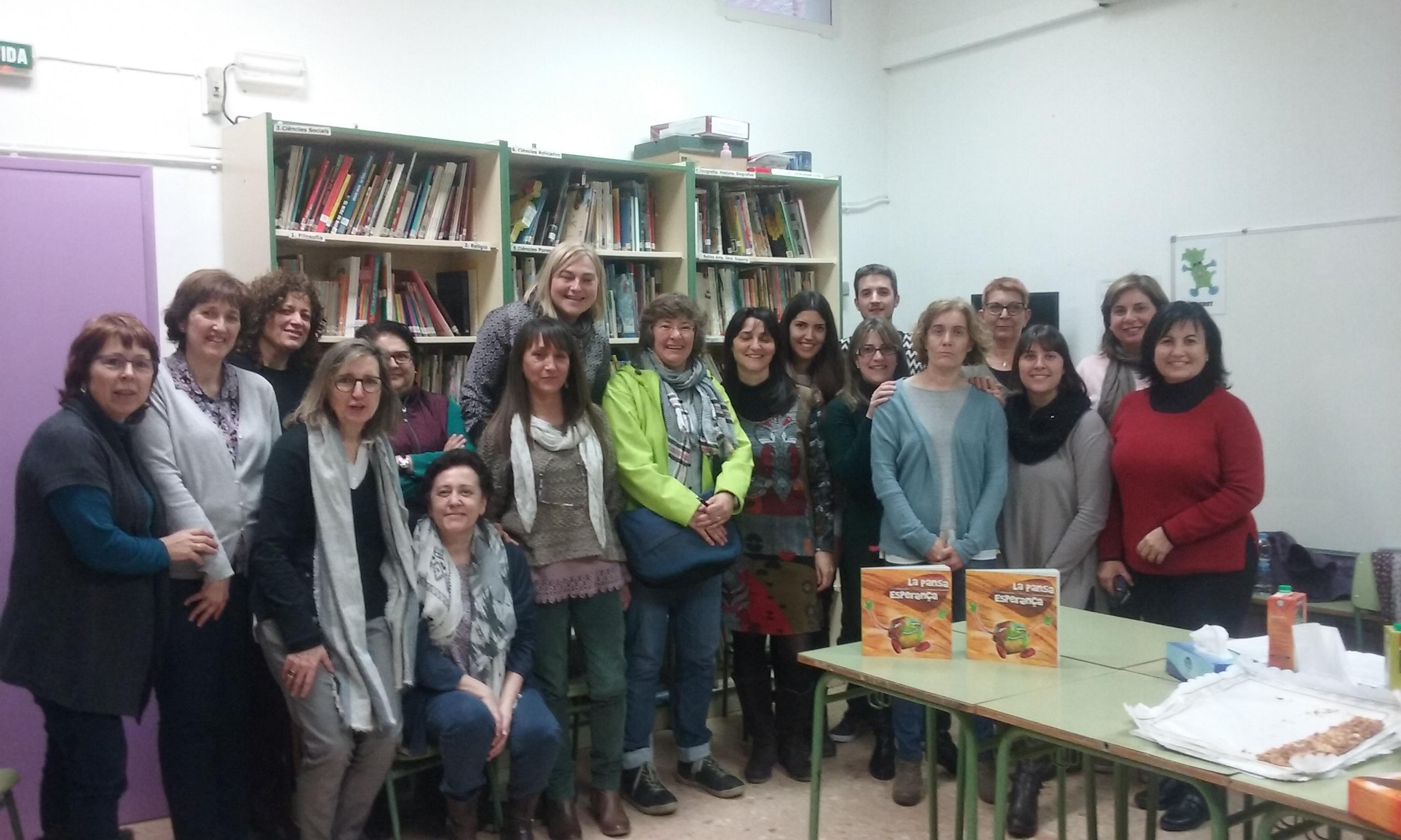 Biblioteca Escola de Garcia. Seminari de Biblioteques Escolars Ribera amb Sílvia Veà, gener 2016